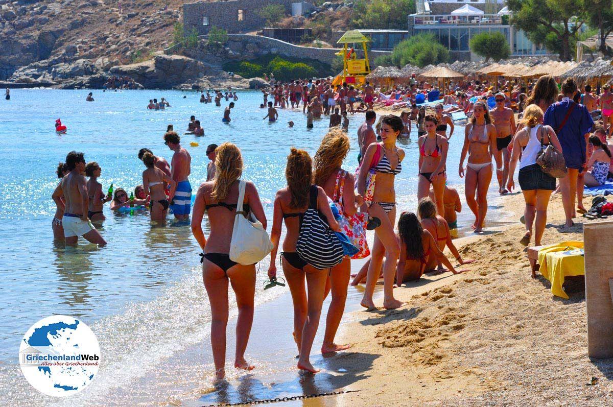 Paradise Beach Mykonos | Urlaub in Paradise Beach Griechenland