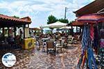GriechenlandWeb.de Het gezellige plein van Skala Eressos - Foto GriechenlandWeb.de