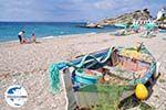 GriechenlandWeb.de Vissersbootje aan het Strandt van Kokkari - Insel Samos - Foto GriechenlandWeb.de