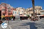 GriechenlandWeb.de Plein Samos Stadt, in het midden de leeuw - Insel Samos - Foto GriechenlandWeb.de