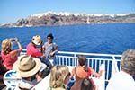 GriechenlandWeb.de Aankomst met boot auf Santorin | Op de achtergrond Oia - Foto GriechenlandWeb.de