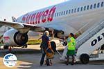 GriechenlandWeb.de Sunweb Transavia vliegtuig | Skiathos Sporaden | GriechenlandWeb.de foto 2 - Foto GriechenlandWeb.de
