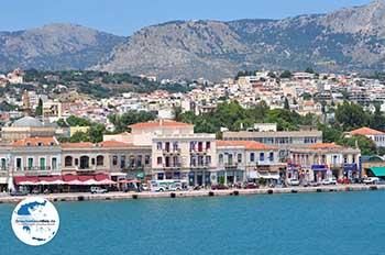Aankomst aan de haven van Chios Stadt - Insel Chios - Foto GriechenlandWeb.de