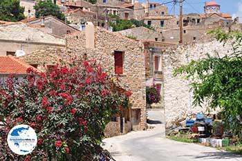 Het dorp van Volissos - Insel Chios - Foto von GriechenlandWeb.de