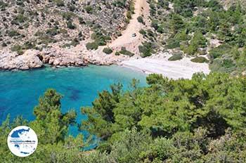 Afgelegen Strandt aan de mooie westkust - Insel Chios - Foto von GriechenlandWeb.de