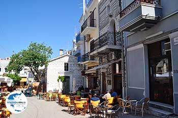 Het centrale dorpsplein in Pyrgi - Insel Chios - Foto von GriechenlandWeb.de