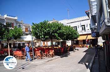 Pyrgi: Hier is het gezellig - Insel Chios - Foto von GriechenlandWeb.de