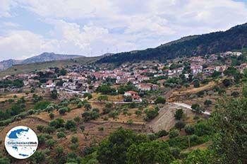 Het bergdorpje Antissa Lesbos - Foto von GriechenlandWeb.de