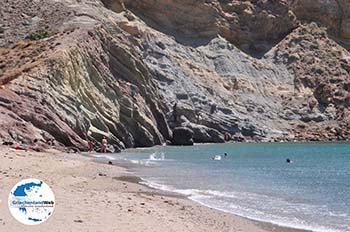 Strand Kalogeras Molos Paros  | Kykladen | Griechenland foto 1 - Foto von GriechenlandWeb.de