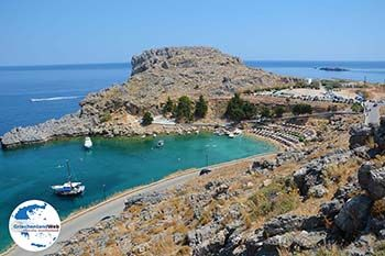 Lindos Rhodos - Dodekanes -  Foto 1 - Foto GriechenlandWeb.de
