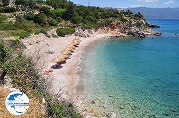 Het lijkt wel een privestrand (Kampos - Votsalakia) - Insel Samos - Foto GriechenlandWeb.de