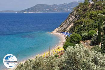 Tsamadou Strandt Kokkari- Insel Samos - Foto von GriechenlandWeb.de