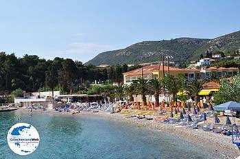 Kiezelstrand Gangou in Samos Stadt - Insel Samos - Foto von GriechenlandWeb.de
