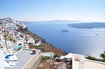 Firostefani Santorin   Kykladen Griechenland    Foto 0006 - Foto GriechenlandWeb.de