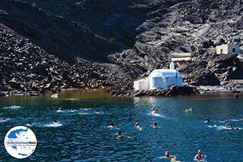 Palia und Nea Kameni Santorin | Kykladen Griechenland  | Foto 74 - Foto GriechenlandWeb.de