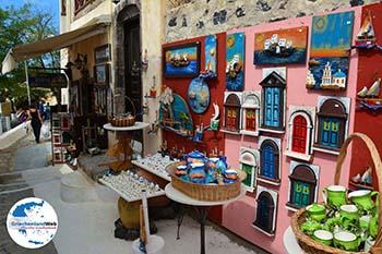 Pyrgos Santorin | Kykladen Griechenland | Foto 146 - Foto GriechenlandWeb.de