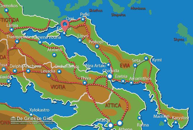 Karte Aedipsos