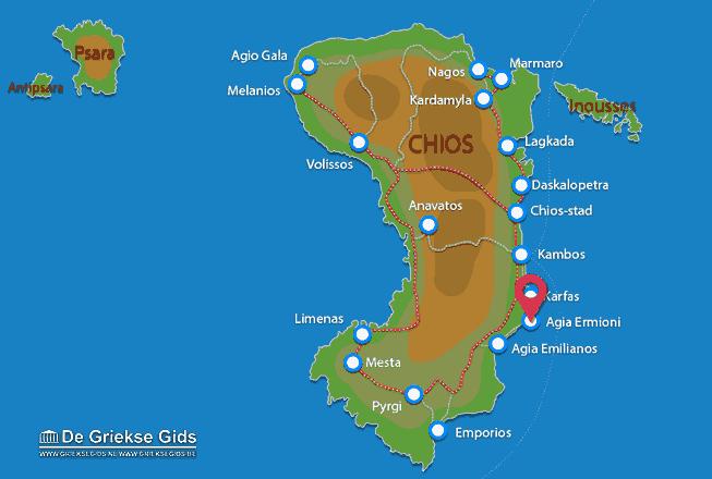 Karte Agia Ermioni