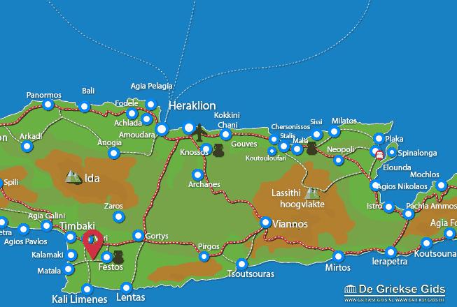 Karte Agia Trias