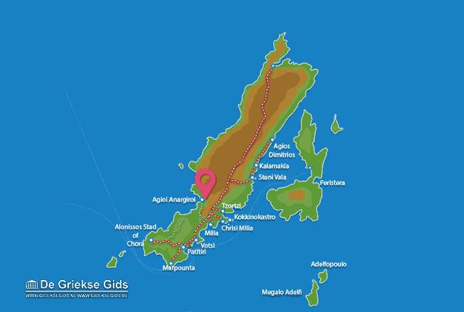 Karte Agioi Anargiri
