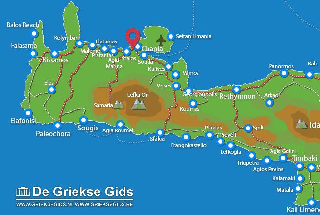 Karte Agioi Apostoloi