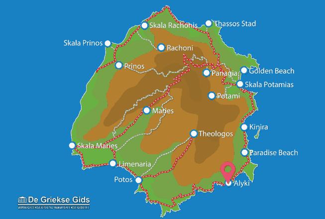 Karte Alyki