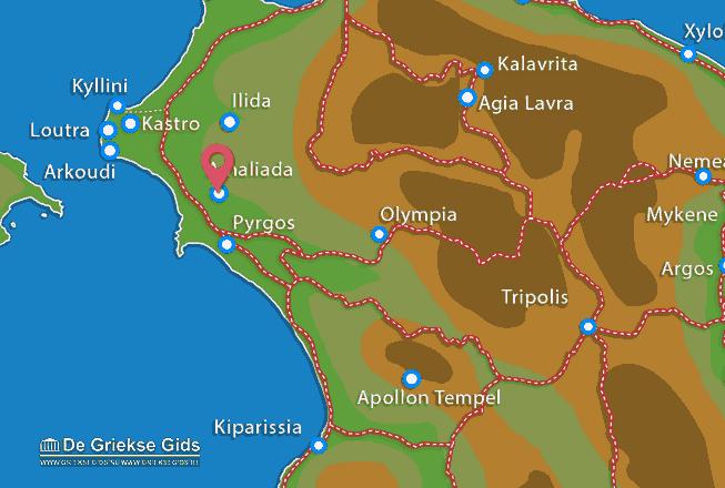 Karte Amaliada