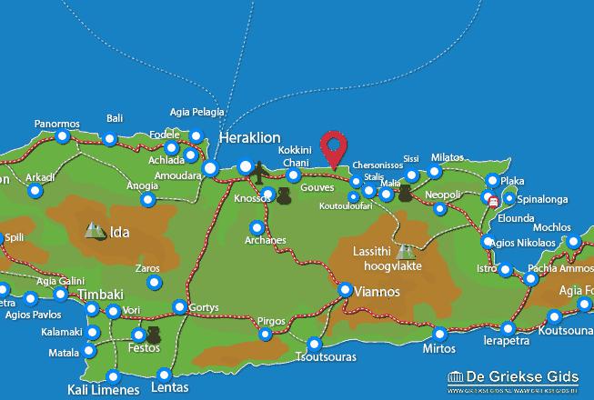 Karte Anissaras