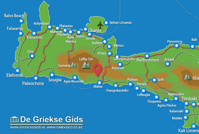 Karte Anopolis