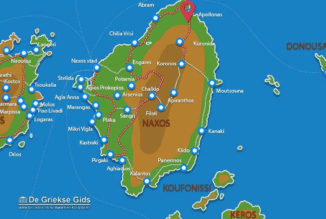 Karte Apollonas