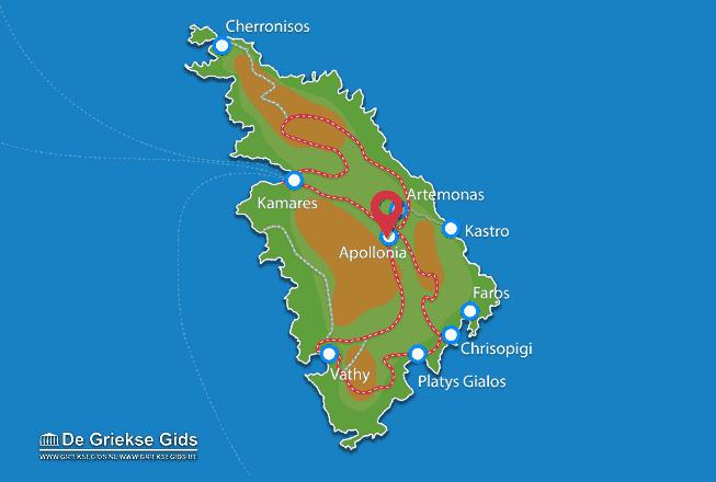 Karte Apollonia