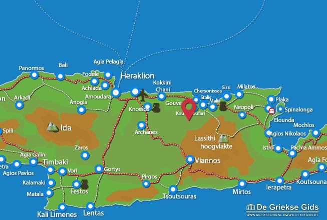 Karte Aposelemis
