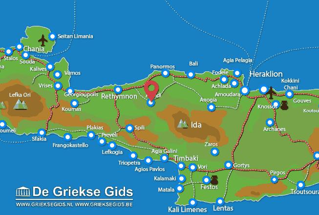 Karte Arkadi