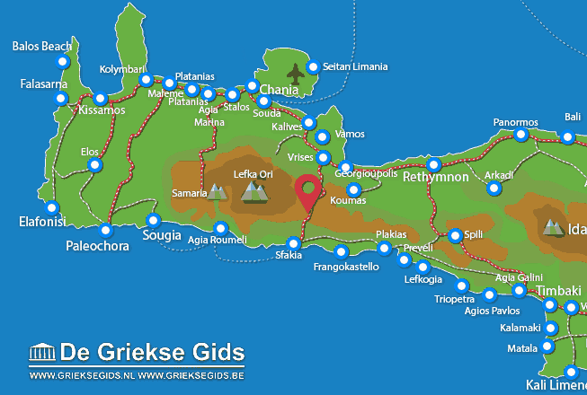 Karte Askifou