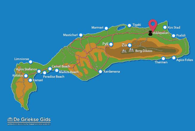 Karte Asklepieion