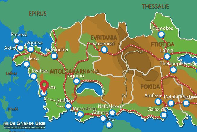 Karte Astakos