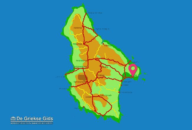 Karte Avlemonas
