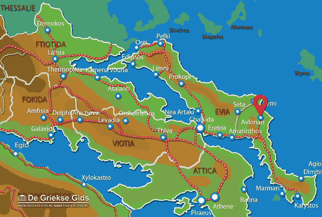 Karte Avlonari