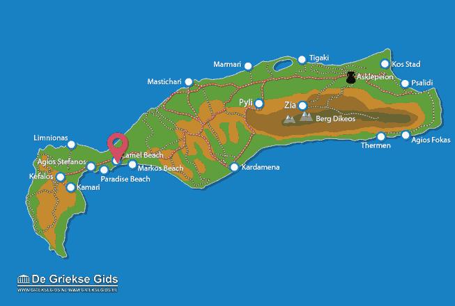 Karte Camel beach
