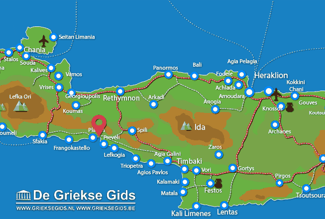 Karte Damnoni