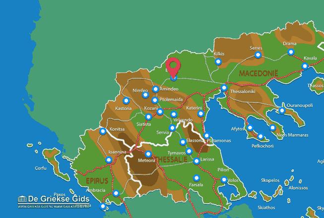 Karte Edessa