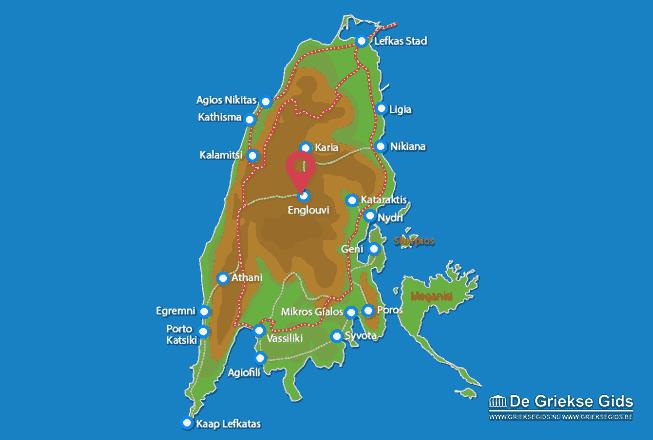 Karte Englouvi