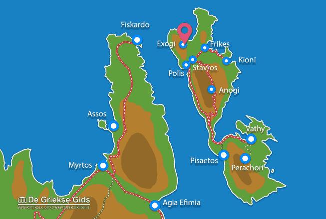 Karte Exogi