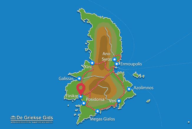 Karte Finikas