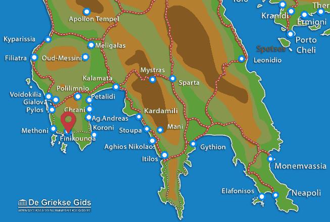 Karte Finikounda
