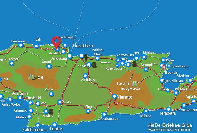 Karte Fodele