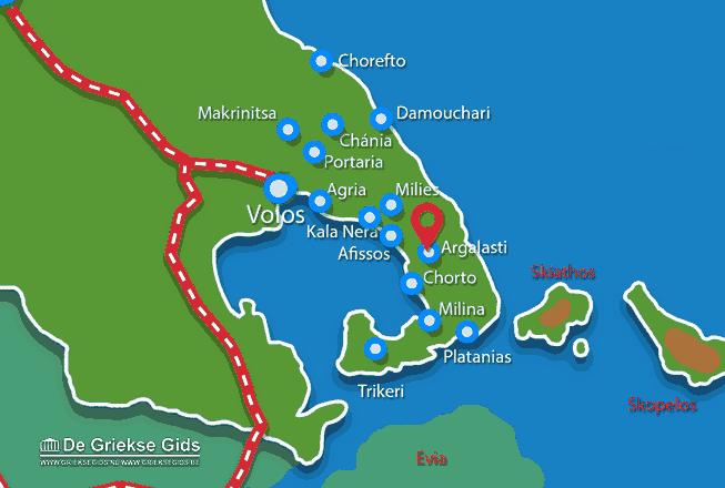 Karte Argalasti (Chorto)