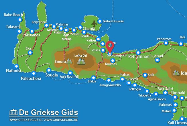 Karte Georgioupolis