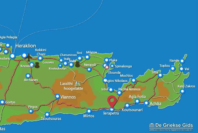 Karte Ierapetra