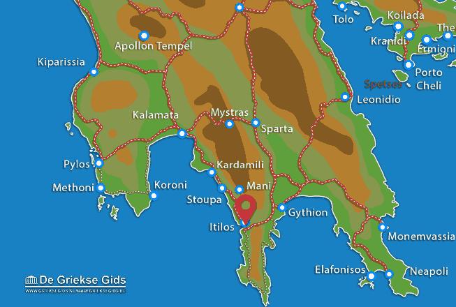 Karte Itilos